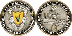 1st Battalion - 12 Cavalry Reg