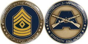 Alpha Company 3 144 Mech Infantry