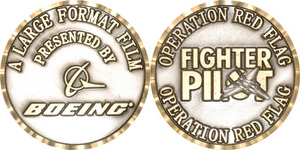 Boeing - Fighter Pilot coin