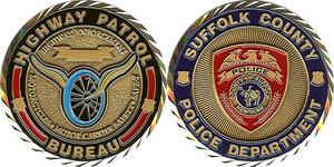 Suffolk County Police Challenge Coin