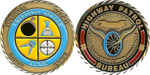 Suffolk Highway Patrol Challenge Coin