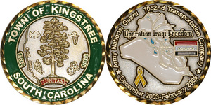 Town of Kingstree Coin